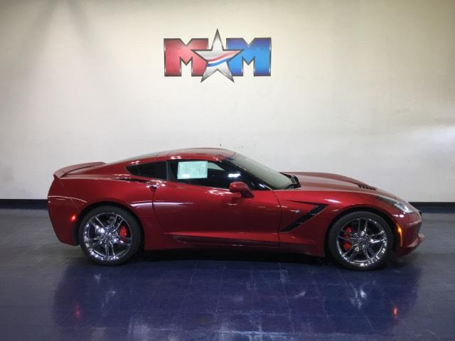 Pre-Owned 2015 Chevrolet Corvette 2dr Stingray Cpe w/1LT