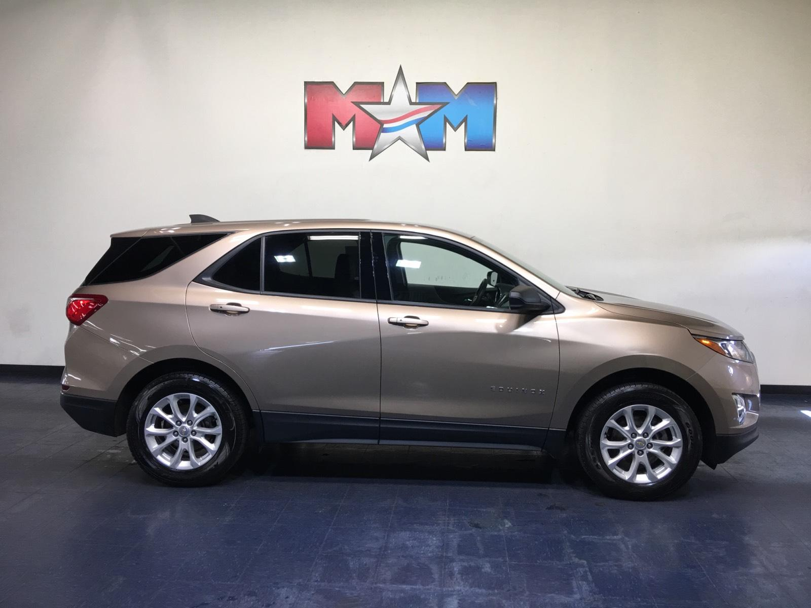 Pre-Owned 2018 Chevrolet Equinox AWD 4dr LS w/1LS