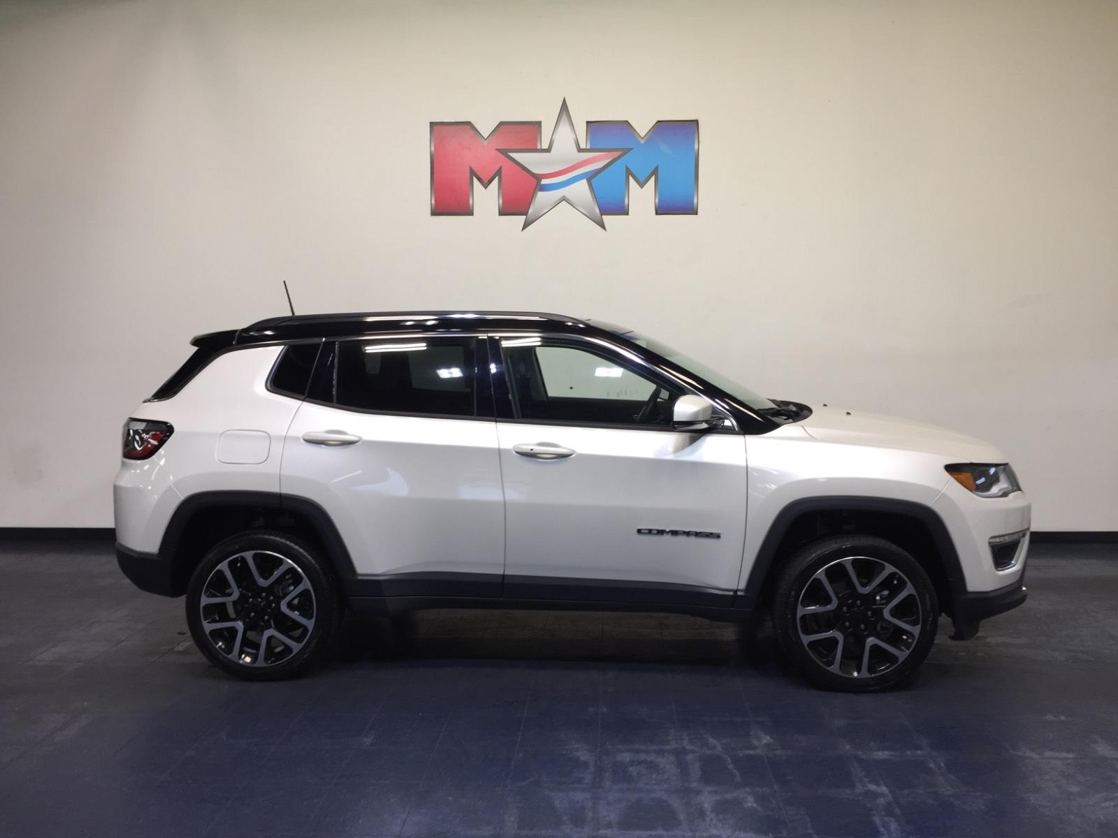 Pre-Owned 2018 Jeep Compass Limited 4x4
