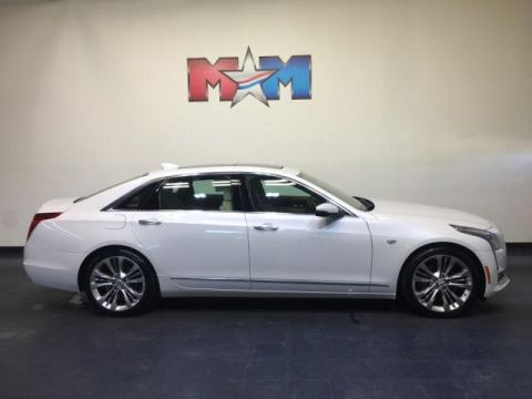 Pre-Owned 2016 Cadillac CT6 4dr Sdn 3.0L Turbo Platinum AWD