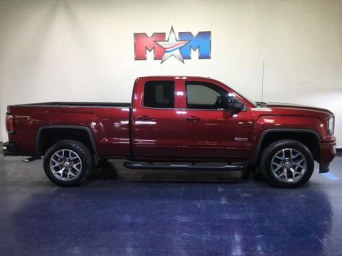 Pre-Owned 2017 GMC Sierra 1500 4WD Double Cab 143.5 SLT