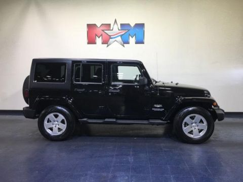 Pre-Owned 2011 Jeep Wrangler Unlimited 4WD 4dr Sahara