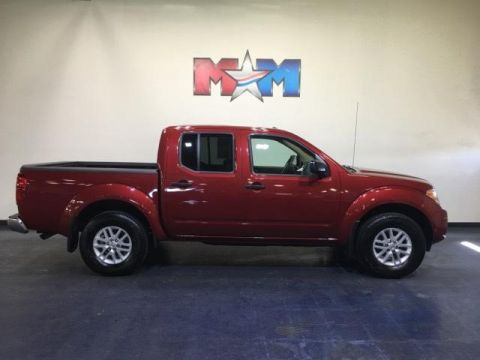 Pre-Owned 2018 Nissan Frontier Crew Cab 4x4 SV V6 Auto