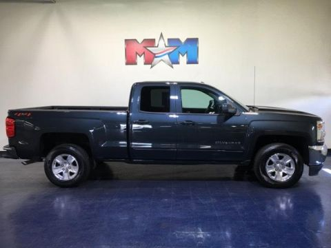 Pre-Owned 2019 Chevrolet Silverado 1500 LD 4WD Double Cab LT w/1LT