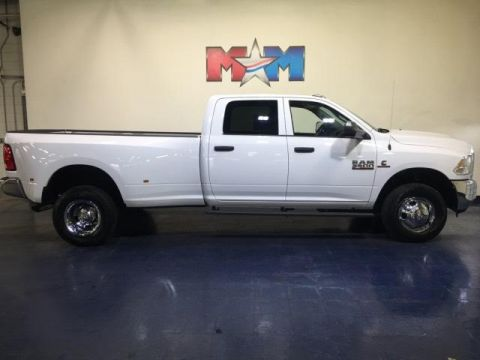 Pre-Owned 2018 Ram 3500 Tradesman 4x4 Crew Cab 8' Box