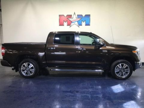 Pre-Owned 2019 Toyota Tundra 1794 Edition CrewMax 5.5' Bed 5.7L